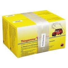 THIOGAMMA Turbo Set Injektionsflaschen 500 Milliliter