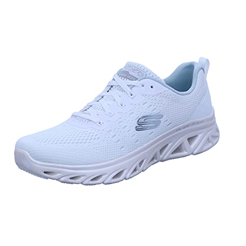 Skechers Damen Sneaker Glide-Step Sport LOVEVERY Weiß, Schuhgröße:EUR 37
