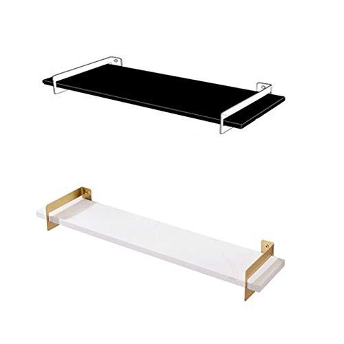 Zwevende planken muur gemonteerde opbergplanken, badkamer plank gemonteerd, zet toiletartikelen op opbergplanken, voor shampoo, conditioner, douchegel, enz, ook perfect voor slaapkamer, woonkamer, kantoor, enz,