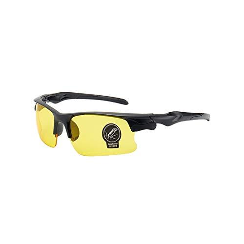 MLFL Gafas de visión Nocturna Gafas Protectores Gafas de Sol Visión Nocturna Conductores Gafas de conducción Gafas Accesorios Interiores Anti deslumbramiento (Color Name : C)