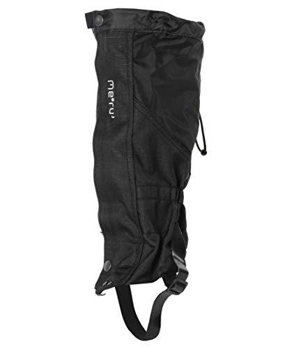 Meru Vertical Pro Gaiter, Black, L/XL