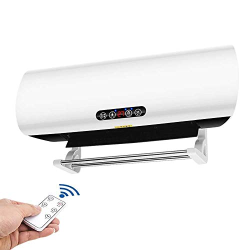 Xiao Jian-fase elektrische verwarming 2000 W elektrische verwarming met standaard, persoonlijke verwarming voor de badkamer, intelligente controle van de gelopen temperatuur in wit