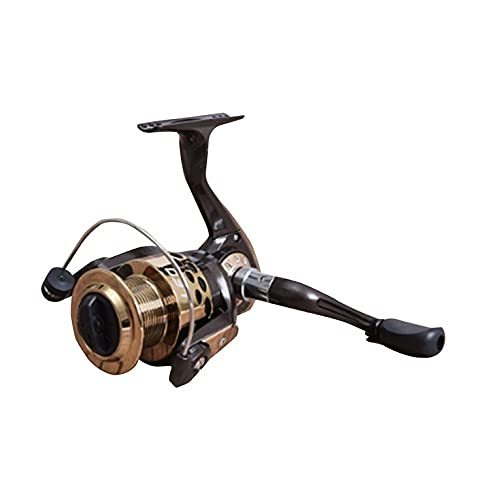 QiKun-Home LEO Carretes de pesca Spinning Wheel GF1000/2000/3000/4000/5000 Serie Relación de engranajes 5.2: 1 Teniendo 3BB derecha izquierda Swap Pesca Gear GF2000