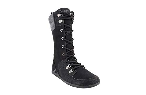 Xero Shoes Mika - Women's Lightweight Minimalist Barefoot-Style Water-Resistant Cold-Weather Boot Black