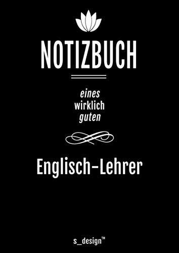 Notizbuch für Englisch-Lehrer: Originelle Geschenk-Idee [120 Seiten kariertes DIN A4 blanko Papier]
