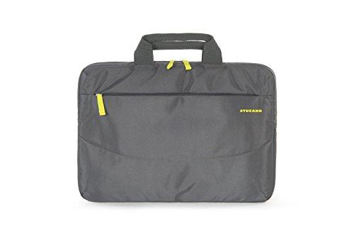 Tucano Urban Life Shopper schoudertas schoudertas hengseltas Laptoptas. 15.4 grijs