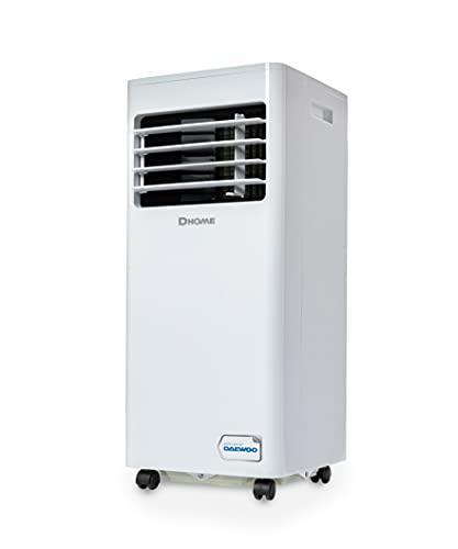 Daewoo DA7KWE - Climatizzatore mobile - Deumidificazione - Ventilatore - 7000 BTU - Timer