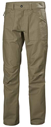 Helly Hansen Essential Canvas - Pantalón para Hombre, Hombre, 62952, Falda, Large, Roca caída