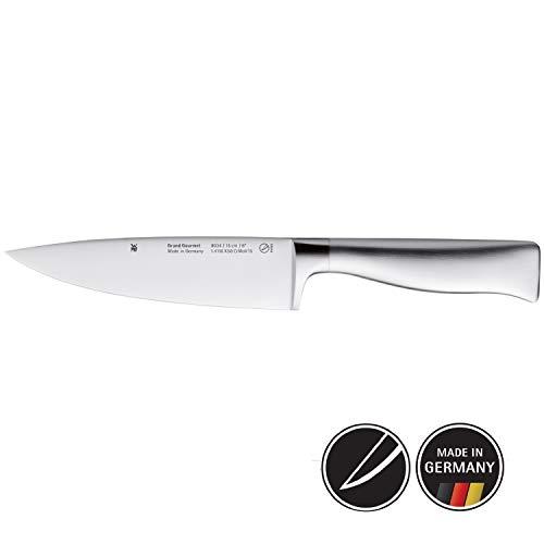 WMF Grand Gourmet Kochmesser 29,5 cm, Spezialklingenstahl, Messer geschmiedet, Performance Cut, Klinge 15 cm