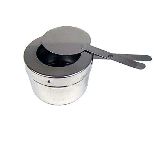 Réchaud Dish repas plus chaud Brennpaste Récipient Brennpaste Récipient Couvercle 10x