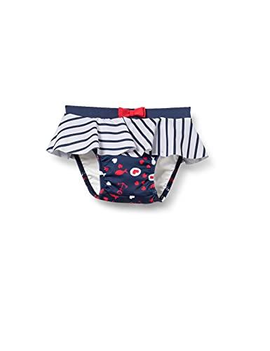 Steiff Mädchen Baby- und Kleinkind-Schwimmwindel, Navy, 80