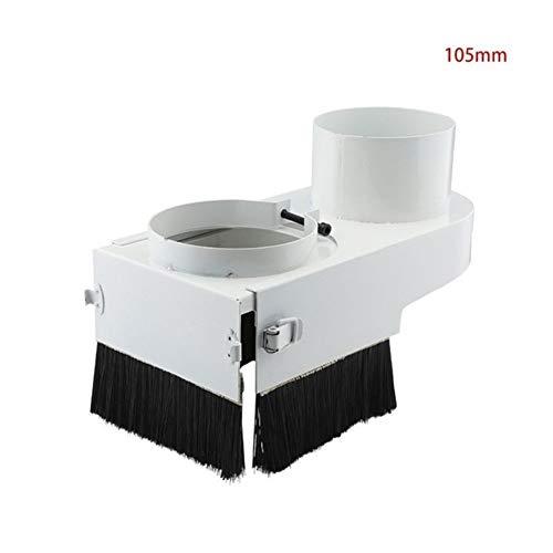 SSGLOVELIN Staub Schuh-Bürste for CNC-Fräser-Spindel-Motor-Fräsmaschine zur Holz (Color : 105mm)