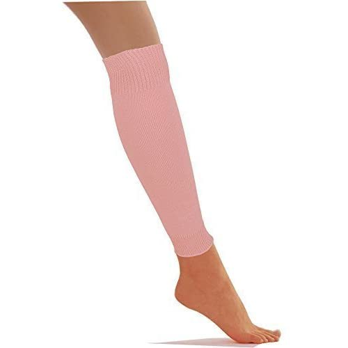 Scaldamuscoli da danza da bambina, colori sgargianti, per travestimento, colore rosa