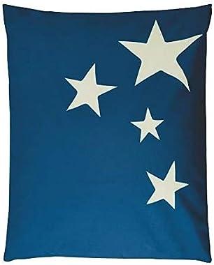 Pouf - Poire Pouf XXL Stars Tissu Impermeable - Marine - 100x120 cm