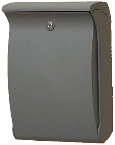 Buzón, exterior anti-UV, resistente a los rayos UV, duradero, no se decolora, apto para villas, patios, evita la pérdida de letras