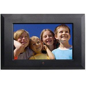 "10.2"" Polaroid XSA-01010B Widescreen Digital Photo Frame w/MP3 (Black) Digital Frames Picture"