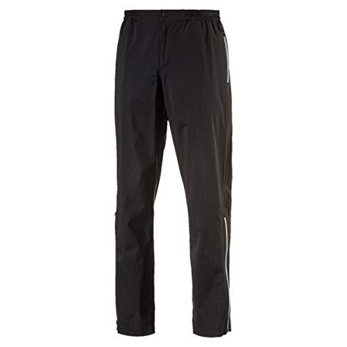 Puma Herren Golf Storm Hose Männer Regenhose Golfhose schwarz Größe XL