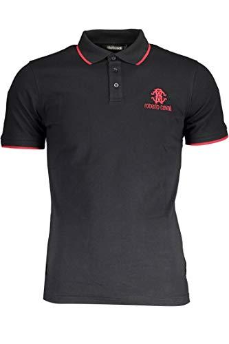 Roberto Cavalli Hombre Polo Shirt GST687A 05051 05051 Camisa Polo