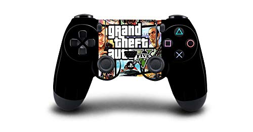 Grand Theft Auto V GTA 5 Protective Cover Sticker for PS4 Controller Skin for Playstation 4 Pro Slim Decal PS4 Skin Sticker-QBTM0008