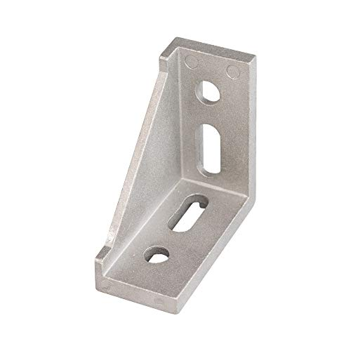 16er Set Einseitige Rechtwinklige Eckverbindung Winkelverbinder Winkel Aluminium 3030 30x30 für 30 mm Konstruktionsprofile Systemprofile