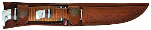 CASE XX WR Pocket Knife Two Knife Set Twin Finn W/Leather Sheath Item #372 - (Twinfinn SS)