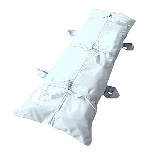 Waterproof Filling Body Bag Dead Body Bag Hospital Morgue Transportation Dead Person Bag for Dead (Blue)