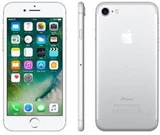 【SIMロック解除済】 Apple iPhone7 32GB シルバー au
