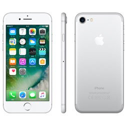 【SIMロック解除済】 Apple iPhone7 32GB シルバー Softbank