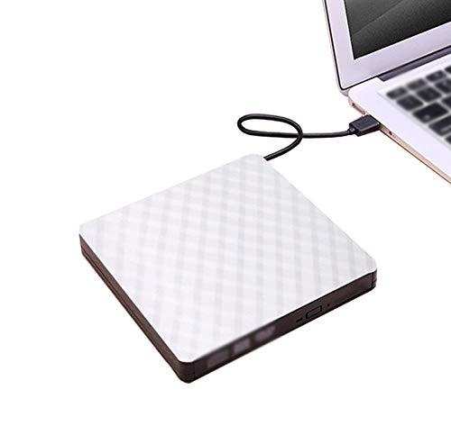 AILINSHA Externes CD-Laufwerk, USB 3.0, tragbares DVD/CD+/-RW ROM, Brenner, Laufwerk,...