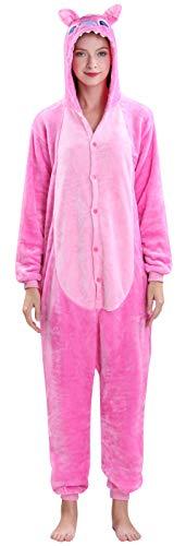 Yimidear Unisex Cálido Pijamas para Adultos Cosplay Animales de Vestuario