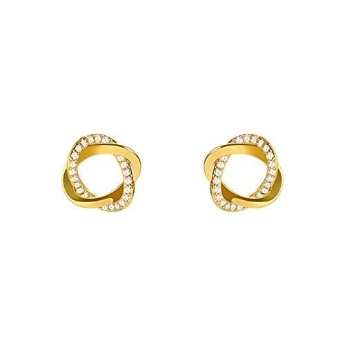 QIN New Trend Cross Earrings Simple Little Earrings Elegant Girl Jewels