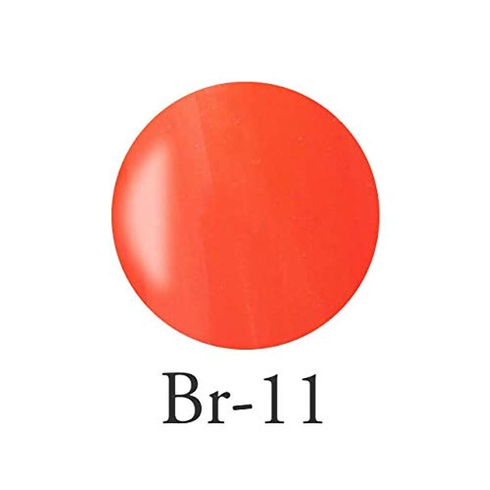 十分ケージ起きるエンジェル クィーンカラージェル コロンブオレンジ Br-11 3g