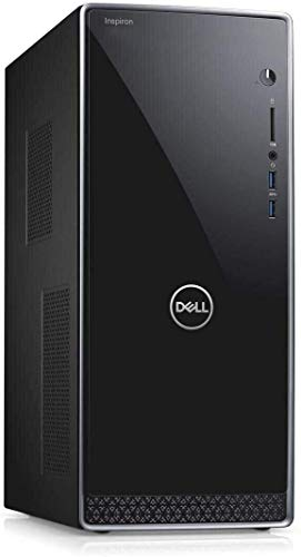 Dell Inspiron 3671 Windows 10 Pro Business Desktop Computer_ Intel Quad-Core i3-9100 up to 4.2GHz_ 32GB DDR4 RAM_ 1TB PCIe SSD + 1TB HDD_ WiFi_ Bluetooth_ USB 3.1_ VGA_ HDMI_ Keyboard and Mouse
