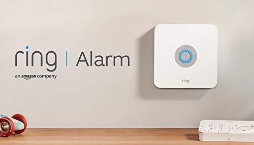 Ring Alarm 5-teiliges Set (1. Generation) von Amazon – Alarmanlage mit optionaler unterstützter Überwachung – ohne langfristige Verpflichtungen – funktioniert mit Alexa