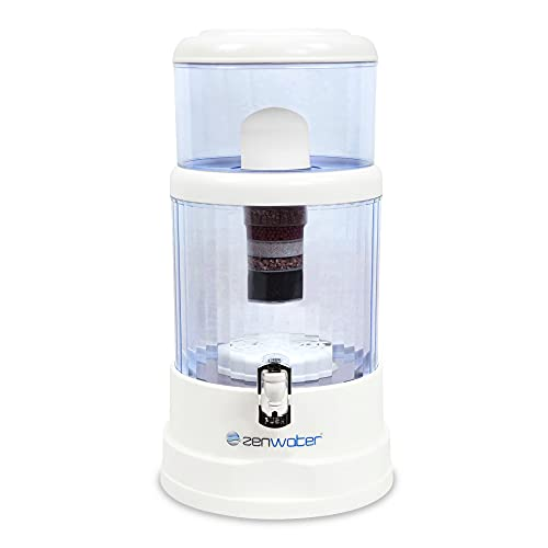 water purification systems Zen Water Systems Countertop Filtration and Purification System, 6-Gallon