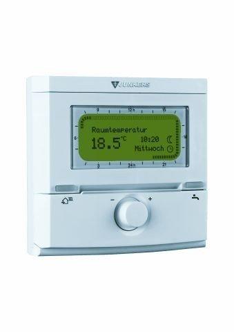 Junkers FR 120 Raumtemperaturregler Wochenprogramm für Heizung/Warmwasser