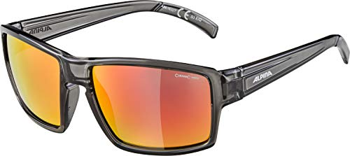 ALPINA MELOW Sportbrille, Unisex – Erwachsene, grey transparent, one size