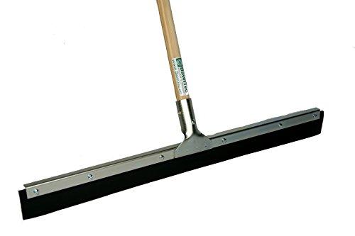 BawiTec Gummischwapper Vollgummi Abzieher 60 cm mit Stiel 140 cm Metall Ausfühung Wasserschieber Wasserabzieher