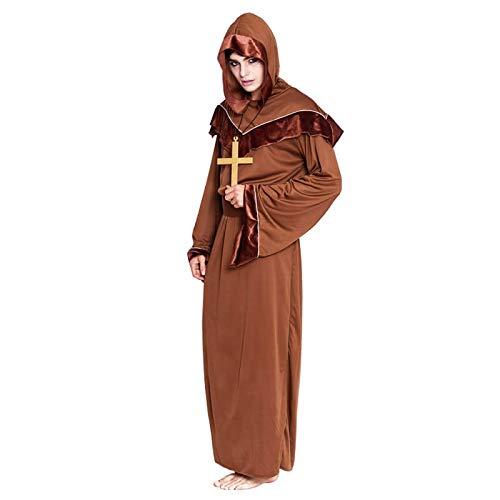 Disfraz Monje Franciscano para Hombre (Talla L) (+ Tallas)