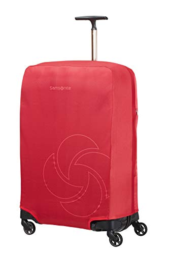 Samsonite Global Travel Accessories - Funda para Maleta Plegable, M, Rojo (Red)