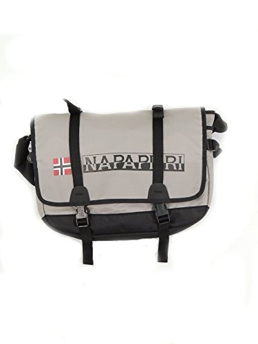 Borsa Tracolla UOmo Donna Napapijri Bag Messenger Woman Men N8T03 Journey Light Grey