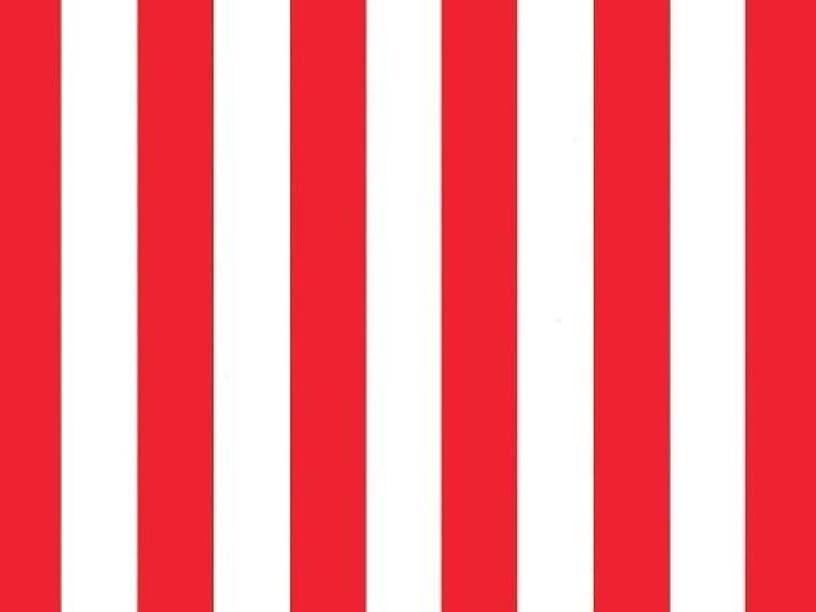 Red & White Stripes Tissue Paper 20