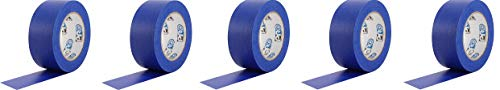 """ProTapes Pro Scenic 714 Crepe Paper 14 Day Easy Release Painters Masking Tape, 60 yds Length x 3"""" Width, Blue (Pack of 1) (5-(Pack))"""