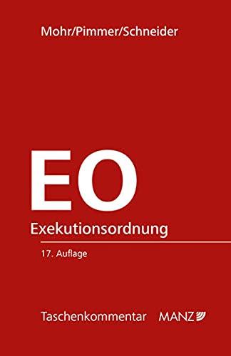 Exekutionsordnung - EO (Taschenkommentar)