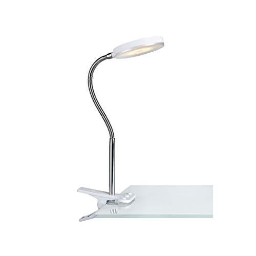 Mark Slöjd 106470 Lampe à pince métal, Integrated, argent