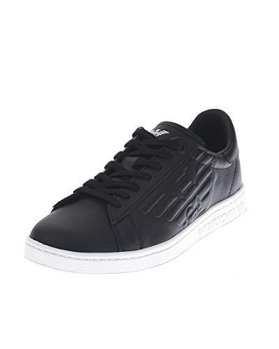 armani scarpe uomo sneakers Emporio Armani X8X001 Sneakers con Lacci in Ecopelle da Uomo