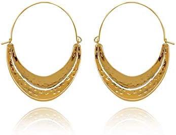 African Style Hoop Earrings