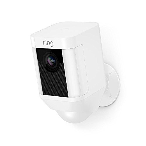 Certified Refurbished Ring Spotlight Cam Battery HD Security Camera