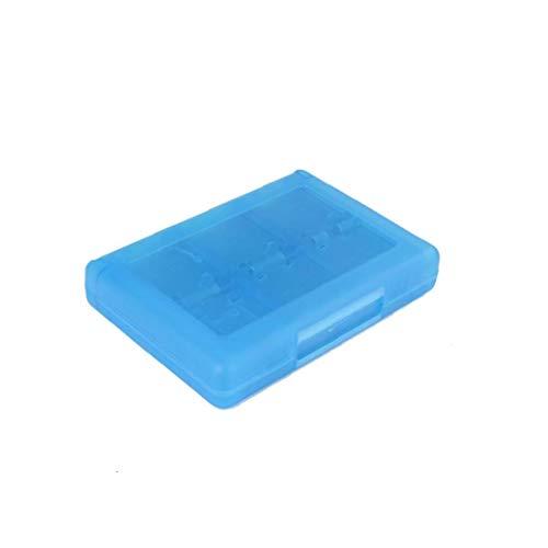 TOPofly 28 en 1 Juego Tarjeta Caja Cuadro Titular Cartucho para Nintendo 3DS Juegos Vedio (Azul) por Conveniencia