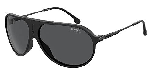 Carrera Unisex-Erwachsene 20381700364M9 Sonnenbrille, Negro Mate/Gris Polarizado, 64